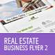 Real Estate - Business Flyer Template 2 - GraphicRiver Item for Sale