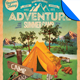 Adventure Summer Camp Flyer Template