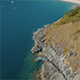 Aerial Sea and Rocks 6 - VideoHive Item for Sale