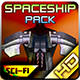 Spaceship Pack 28 - GraphicRiver Item for Sale