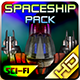 Spaceship Pack 29 - GraphicRiver Item for Sale