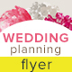 Wedding Planning Flyer - GraphicRiver Item for Sale