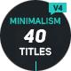 Minimalism 4 - VideoHive Item for Sale
