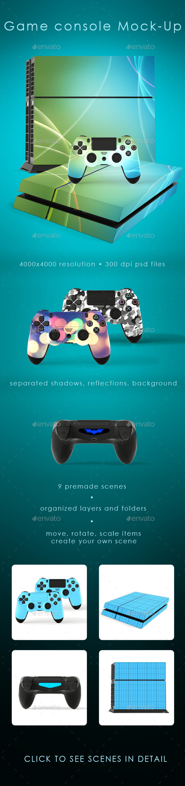 Game Console Mock-Up - Miscellaneous Print