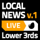 Local News Lower Third Package 1 - VideoHive Item for Sale
