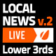 Local News Broadcast Lower Third Package - VideoHive Item for Sale