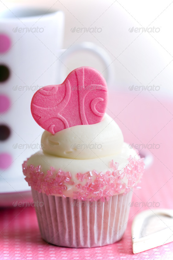 Cupcake love - Stock Photo - Images