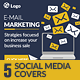 Email Marketing Social Media Covers