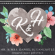 Chalk Floral Wedding Invite - GraphicRiver Item for Sale