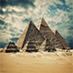 Pyramids With Dramatic Sky - VideoHive Item for Sale
