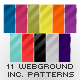 Colorful Web Page Backgrounds - GraphicRiver Item for Sale