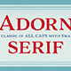 Adorn Serif - GraphicRiver Item for Sale