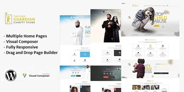 The Child Guardian - Responsive Charity WordPress Theme