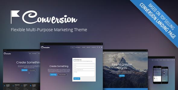Conversion - Multi-Purpose Marketing Theme - Corporate WordPress