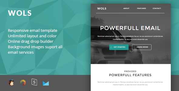 Wols – Responsive Email + StampReady Builder