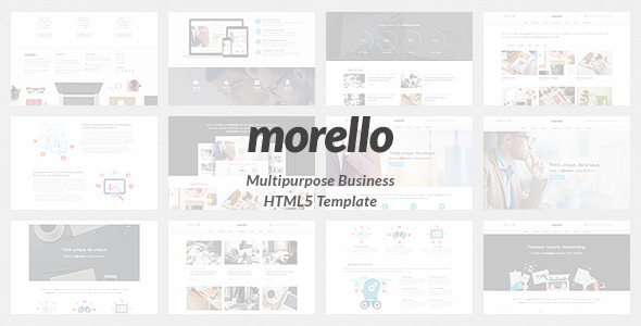 Morello - Multipurpose Business HTML5 Template