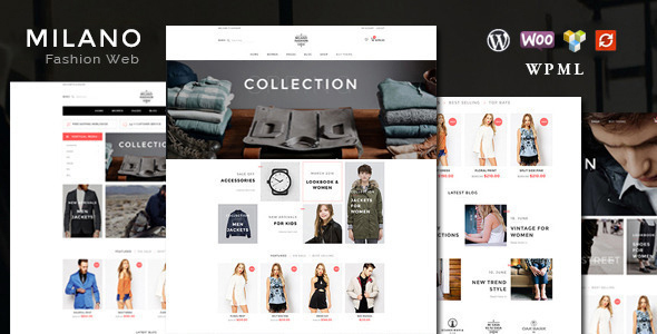 Milano - Fashion Responsive WooCommerce Theme
