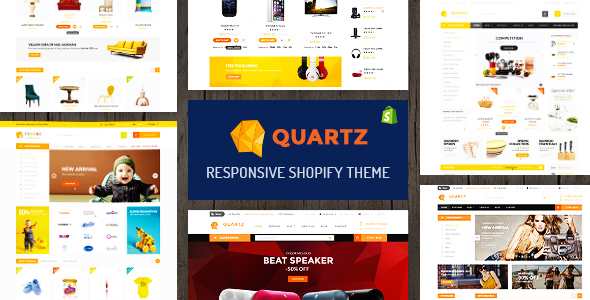 Quartz – A Genuinely Multi-Concept Shopify Theme