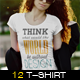 T-shirt Mock-Up Female Edition - GraphicRiver Item for Sale