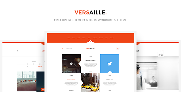 Versaille - Personal Blog WordPress Theme - Blog / Magazine WordPress