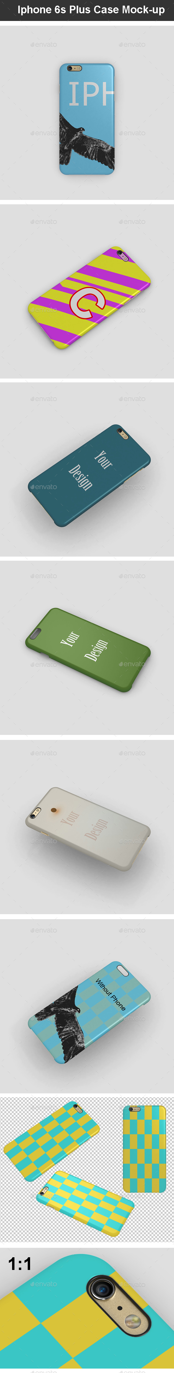 Iphone 6s Plus Case Mock-up - Mobile Displays