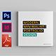 Minimal Square Portfolio Brochure - GraphicRiver Item for Sale