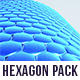 Hexagons Rotations Pack - VideoHive Item for Sale