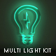 Multi Light Kit - Fire Light Neon Energy Composer - VideoHive Item for Sale