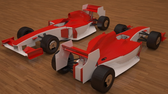 3D Ferrari F1 - 3DOcean Item for Sale