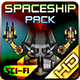 Spaceship Pack 31 - GraphicRiver Item for Sale
