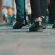 Anonymous People Walking On The Street - VideoHive Item for Sale
