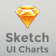 Simple UI Charts - Sketch - ThemeForest Item for Sale