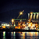 Refinery At Night In Rain - VideoHive Item for Sale