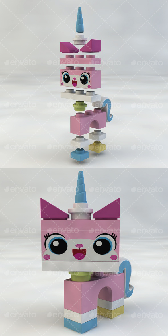 Unikitty - 3DOcean Item for Sale