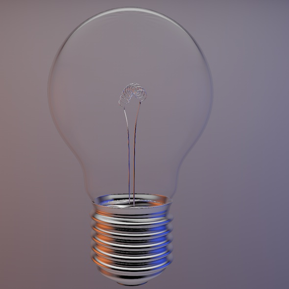 Lightbulb - 3DOcean Item for Sale
