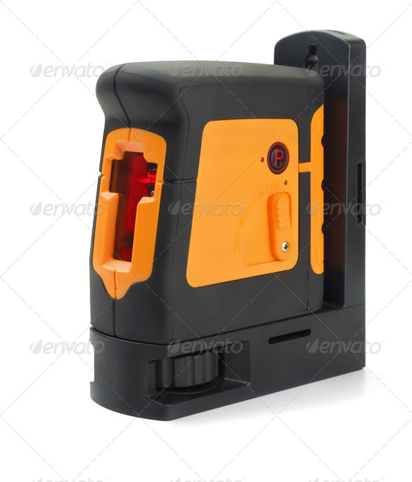 Laser level - Stock Photo - Images
