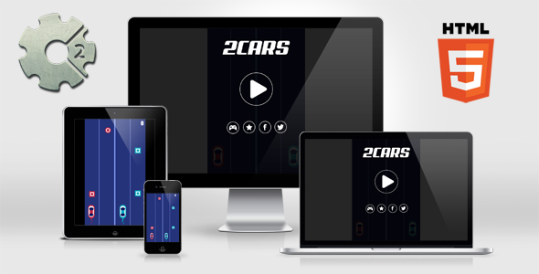 2 Cars - HTML5 Mobile Game - CodeCanyon Item for Sale