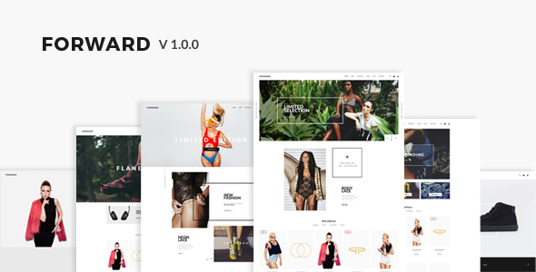 Forward – Responsive WooCommerce Theme