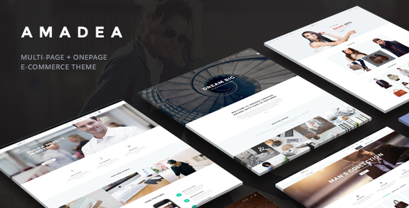 VG Amadea – Multipurpose WordPress Theme