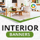 HTML5 Interior Design Banners - NF101 - 7 Sizes - CodeCanyon Item for Sale