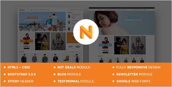 Nexon – Responsive OpenCart Theme