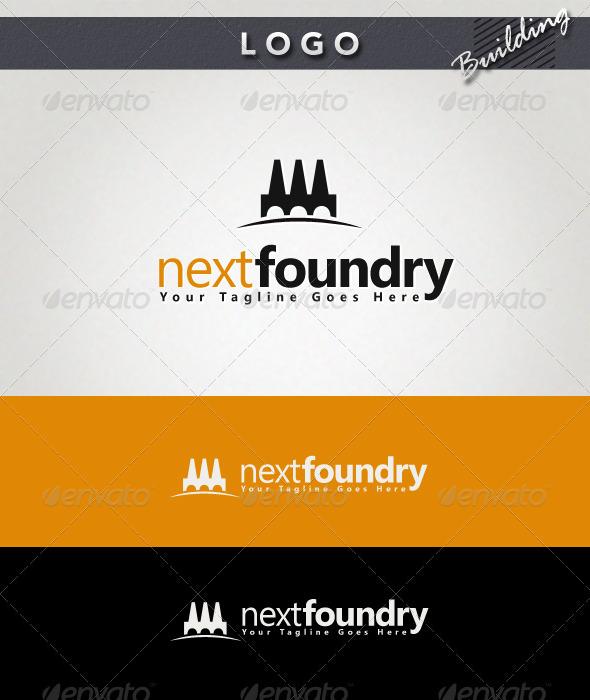 Next Foundry Logo - Buildings Logo Templates