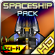 Spaceship Pack 32 - GraphicRiver Item for Sale