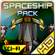 Spaceship Pack 33 - GraphicRiver Item for Sale