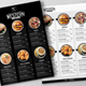 Simple Black & White Restaurant Menu - GraphicRiver Item for Sale
