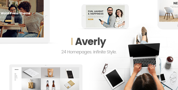 Averly – A Hip & Creative Multipurpose Theme