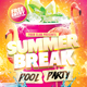Summer Break - GraphicRiver Item for Sale