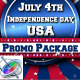 July 4th USA Patriotic Broadcast Promo Pack - Apple Motion - VideoHive Item for Sale