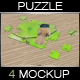 Puzzle Mock Up Vol.2