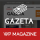 Gazeta - Responsive Magazine WordPress Theme - ThemeForest Item for Sale